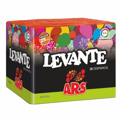LEVANTE – 36 disparos