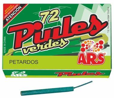 72 PIULES verdes