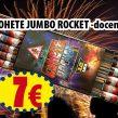Cohetes JUMBO ROCKET (docena)