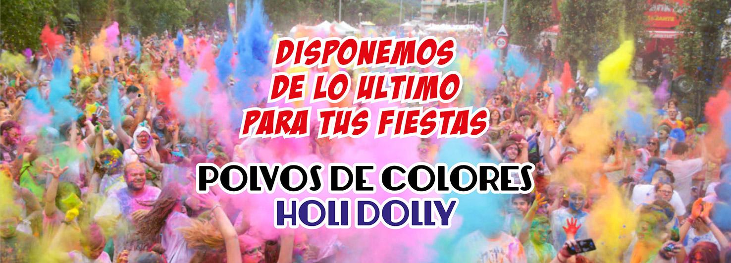 Polvo Colores Holi Dolly